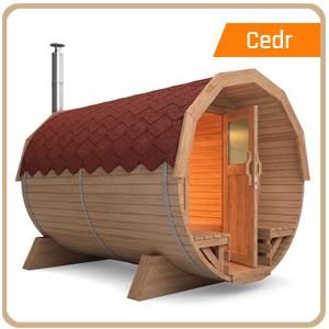 Venkovní sauny CEDR