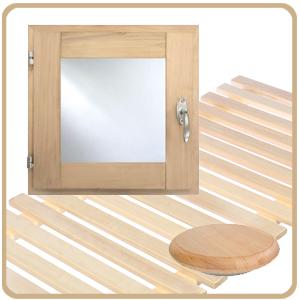 Okna, ventilace, rošty a ostatní