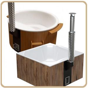 Horký koupací sud Hot Tub