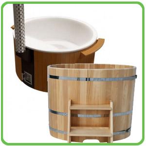 Koupací kádě, sudy, Hot Tub