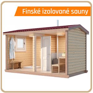 Finská izolovaná sauna